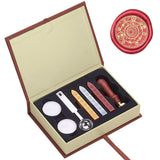 Magic Circle Wax Sealing Stamp Set with Melting Spoon