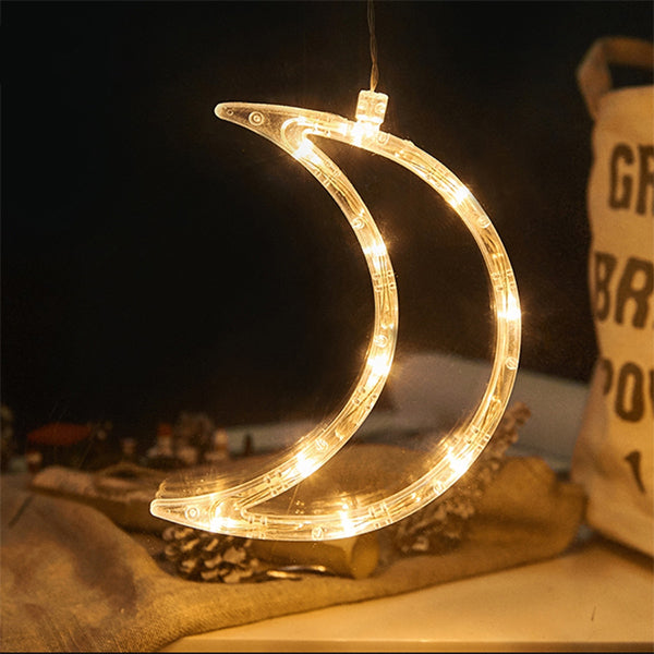 Buy five free Shipping-LED Christmas Suction Cup Light