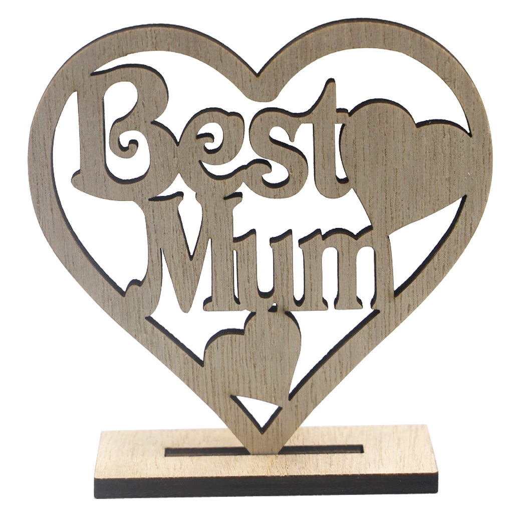 ❤️❤️NEW Stunning - Heart Shaped, Engraved with 'Happy Mothers Day' personalised