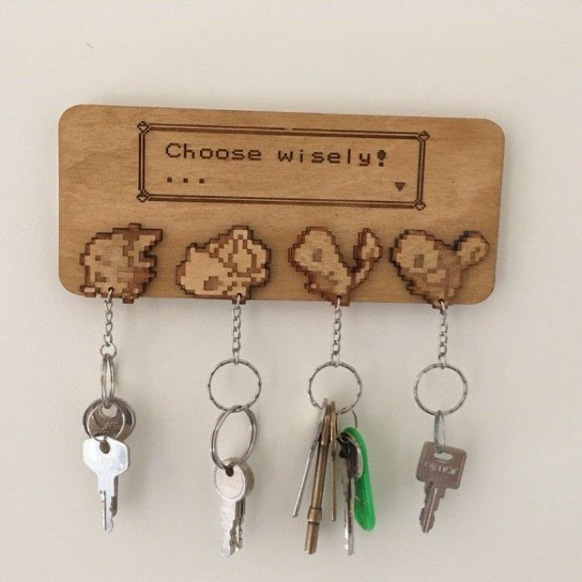 50% Off-Woodcarving wall hanging keychain