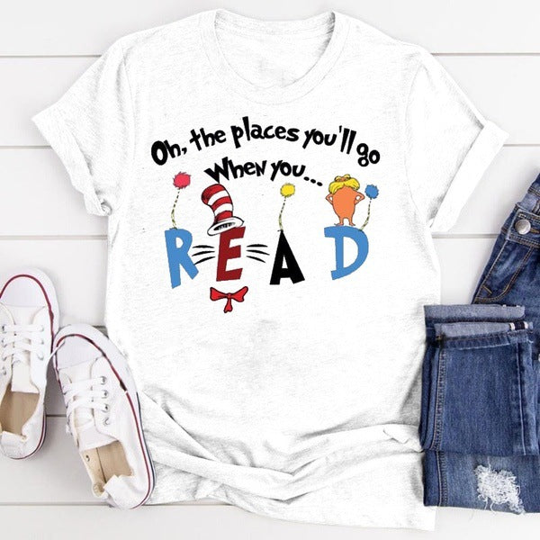 Dr. Seuss T-Shirt-Made in US-buy two free shipping