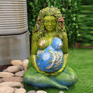 Mother Earth Goddess Statue,Suitable For Living Room And Garden-Free Shipping-OVER $39