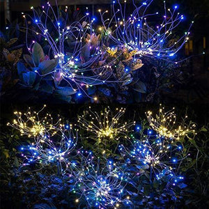 Holiday Promotion!-Waterproof Solar Fireworks Lamp(Buy 4 Free Shipping)