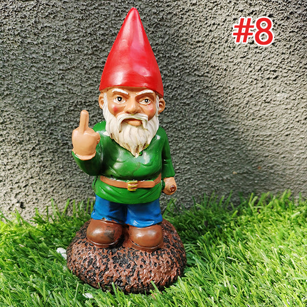 Easter Garden Gnomes Decorate Big Family