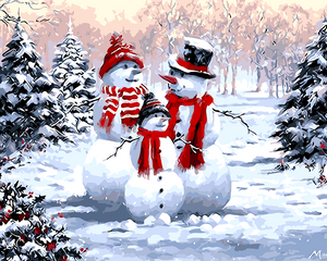 Santa Claus handmade digital painting