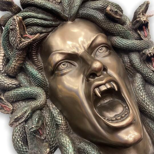 💥💥BUY2(SAVE $10&FREE SHIPPING)-Statue of the Greek mythological monster Medusa-Official authorized😲