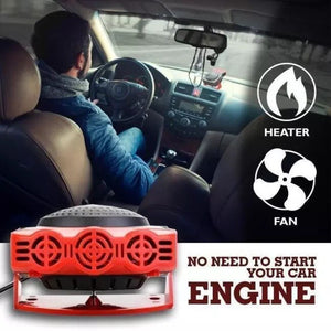 2 In 1 Auto Car Portable Heater And Fan - Delivered From USA