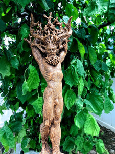 🌍🌍Evoke the forces of nature-Green Man, Cernunnos Statue-Free shipping over $39