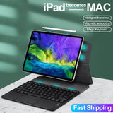 Magic keyboard For iPad Pro 11 Case 2020 for iPad Pro 12.9 2018 2020 Cover Magnetic Ultra Slim Bluetooth Touchpad keyboard Cases