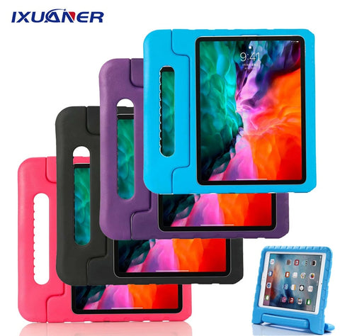 For IPad 10.2 2019 Air 3 10.5 W/ Pencil Holder Shockproof EVA Kids Funda for IPad 6th 7th Generation Pro 11 12.9 2020 Air 2 Case
