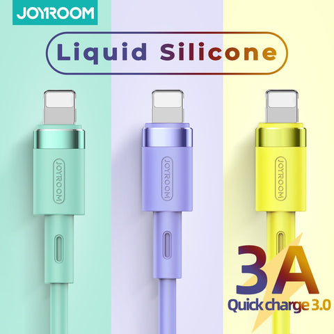 Charger For iPhone 11 Pro Max X XR XS 8 7 6 6s 5 5s iPad Cord for Charging Charger Cable Liquid Silicone Cable For iPhone Cable