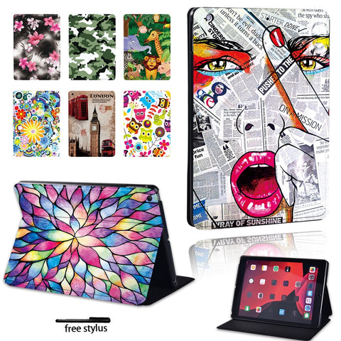 2020 New Tablet Case for Apple IPad Mini 1/2/3/4/5/iPad 2/3/4/iPad 5th/6th/7th/iPad Air/Air2/Air3/iPad Pro 9.7 10.5 11 Inch+Pen