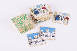 Wooden Memory Game - ARABICITY