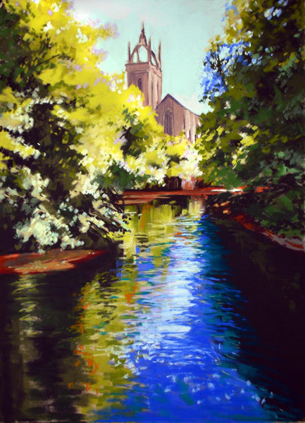 Along the Kelvin 50 x 70 cm
