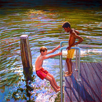 The Boys of Summer 70 x 70cm
