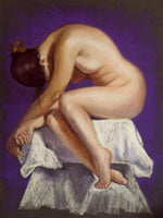 Nude in Violet 30 x 40cm