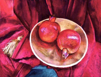 A Pair of Pomegranates