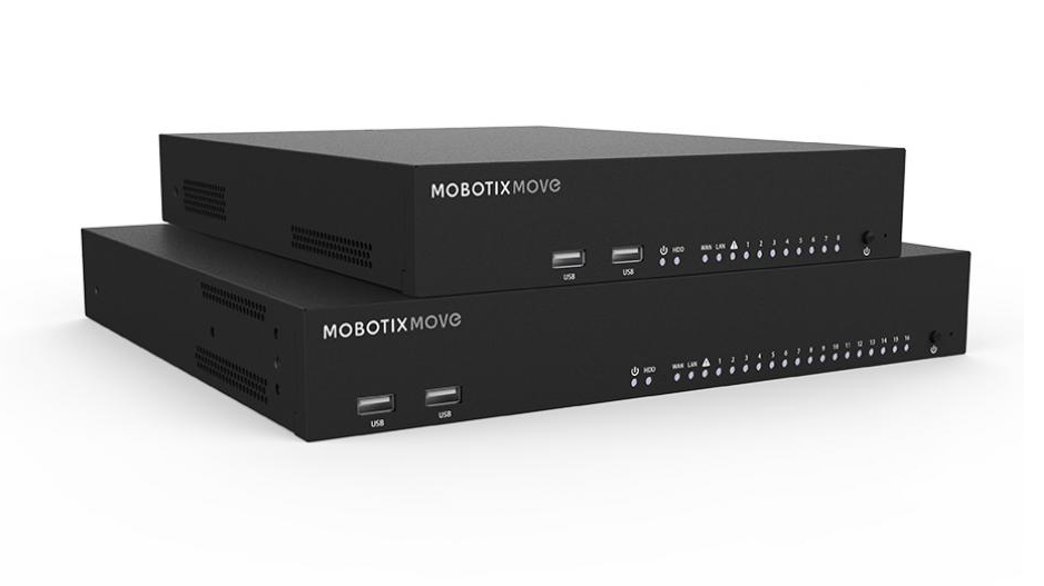 MOBOTIX MOVE NVR Network Video Recorder 16 Channels