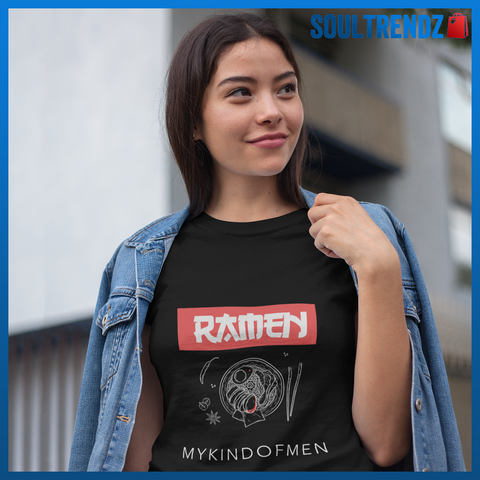 Ramen My Kind Of Men Funny Ramen Shirt