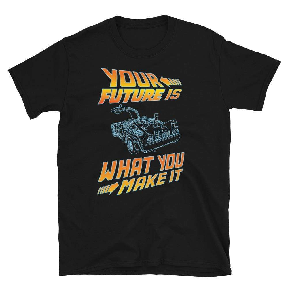 Your Future Is What You Make It Vintage Car T-Shirt - SoulTrendz