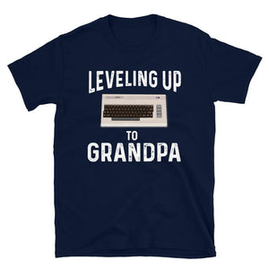 Leveling Up To Grandpa Vintage Gamer T-Shirt - SoulTrendz