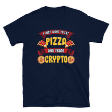 Load image into Gallery viewer, Pizza and Crypto T-Shirt