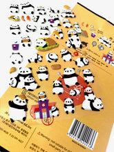 Load image into Gallery viewer, 010041 Panda Puffy Sticker-1 sheet