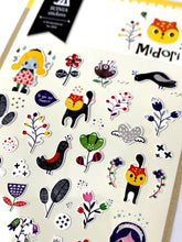 Load image into Gallery viewer, 020021 Midori Korean Paper Sticker-1 sheet