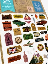 Load image into Gallery viewer, 020101 Travel Story Kraft Sticker-1 sheet