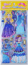 Load image into Gallery viewer, 101161 DRESS-UP PUFFY STICKERS-8 assorted sheets