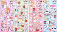 Load image into Gallery viewer, 101291 CUTE PET PUFFY STICKERS-4 assorted sheets
