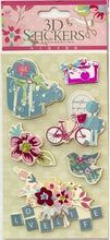 Load image into Gallery viewer, 101431 3D CRAFT STICKERS-ASSORTED-12 sheets