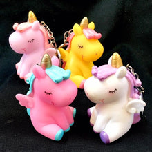 Load image into Gallery viewer, 120155 BIG SOFT UNICORN CHARM-YELLOW-1 piece