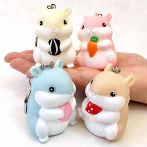 120175 BIG HAMSTER CHARM-TAN-1 piece