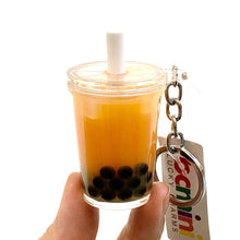 Load image into Gallery viewer, 120321 Boba Tea Keycharm-3 assorted pieces
