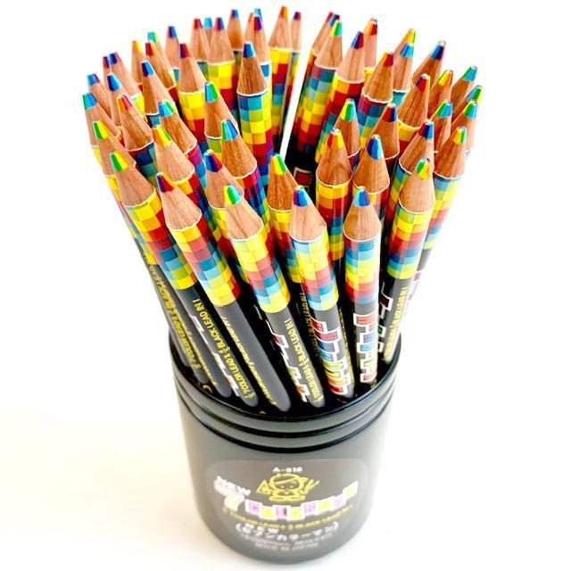 212291 7-IN-1 COLORS & HB PENCILS IN ONE-1 pencil