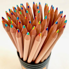 Load image into Gallery viewer, 214401  6-IN-1 COLORS WOOD PENCIL-1 pencil