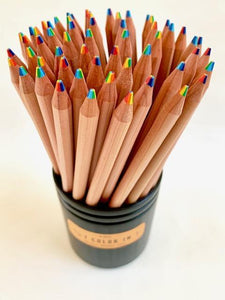 214401  6-IN-1 COLORS WOOD PENCIL-1 pencil