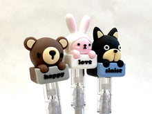 Load image into Gallery viewer, 222872 ADOPT A ANIMAL GEL PEN-3 assorted pens