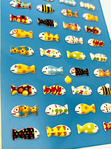 287551 SUSHI DAY PUFFY STICKERS-1 sheet