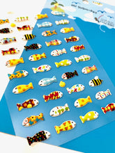 Load image into Gallery viewer, 287551 SUSHI DAY PUFFY STICKERS-1 sheet