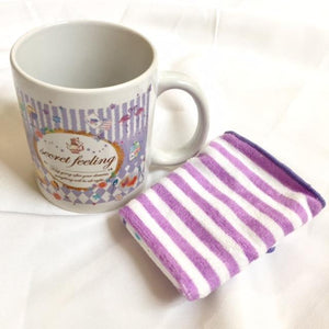 30486 CRUX CERAMIC MUG GIFT SET -Purple Secret Feeling-1 set