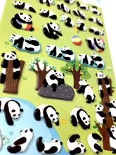 Load image into Gallery viewer, 313351 PANDA Puffy Stickers-1 sheet