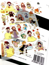Load image into Gallery viewer, 314891 SNOW WHITE PVC STICKER-1 sheet