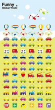 Load image into Gallery viewer, 370301 CARS GEL STICKERS-1 sheet