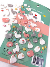 Load image into Gallery viewer, 371431 ALPACA & SHEEP PUFFY STICKER-1 sheet