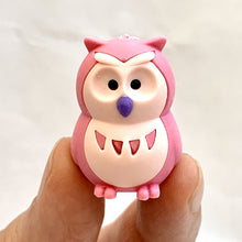 Load image into Gallery viewer, 380066 IWAKO OWL ERASERS-PINK-1 eraser