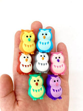 Load image into Gallery viewer, 380064 IWAKO OWL ERASERS-GREEN-1 eraser