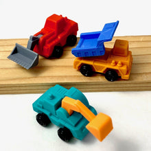 Load image into Gallery viewer, 380962 Iwako Construction Trucks Eraser-3 erasers