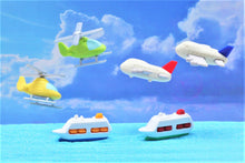 Load image into Gallery viewer, 381364 AIRPLANE ERASERS-BLUE-1 eraser